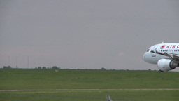 HD2008-6-1-15 AC airbus starts takeoff Stock Video Footage