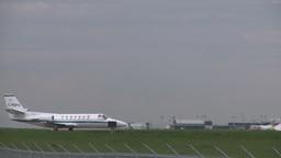 HD2008-6-1-19 Cessna citation idle Stock Video Footage