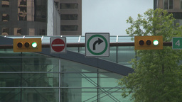 HD2008-6-1-39 traffic lights Stock Video Footage