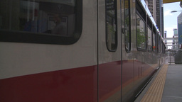 HD2008-6-2-15 LRT train Stock Video Footage