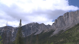 HD2008-6-2-25 Yamnuska pan Footage