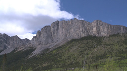 HD2008-6-2-25 Yamnuska pan Stock Video Footage