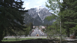 HD2008-6-2-39 Banff town iconic Stock Video Footage
