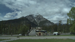 HD2008-6-2-43 Banff town iconic Stock Video Footage