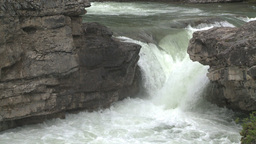 HD2008-6-3-2 Elbow falls Stock Video Footage