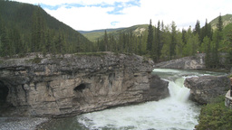 HD2008-6-3-4 Elbow falls Stock Video Footage