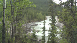 HD2008-6-3-10 Elbow falls Stock Video Footage