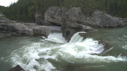 HD2008-6-3-12 Elbow falls Stock Video Footage