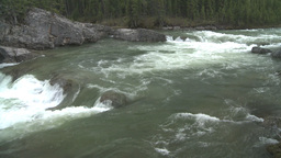 HD2008-6-3-14 Elbow falls Stock Video Footage