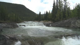 HD2008-6-3-18 Elbow falls Stock Video Footage