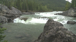 HD2008-6-3-22 Elbow falls Stock Video Footage