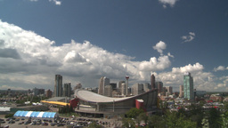 HD2008-6-3-70 Calgary skyline Stock Video Footage