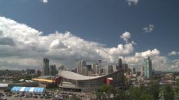 HD2008-6-3-70 Calgary skyline Stock Video Footage
