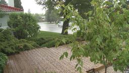 HD2008-6-4-10 rain hail storm Stock Video Footage