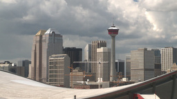 HD2008-6-4-12 calgary skyline scotsman hill ll Footage
