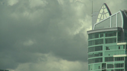 HD2008-6-4-18 calgary skyline scotsman hill condo peak Stock Video Footage