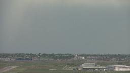 HD2008-6-4-24 jet takeoff thru frame altitude Stock Video Footage