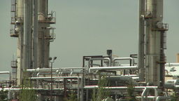 HD2008-6-5-5 gas plant Stock Video Footage