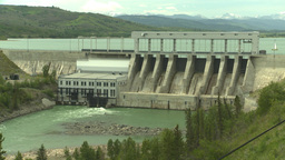 HD2008-6-5-23 ghost dam Stock Video Footage