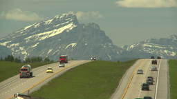 HD2008-6-5-25 TCH and mtns Stock Video Footage