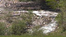 HD2008-6-5-35 stream forest Stock Video Footage