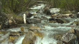 HD2008-6-5-39 mountain stream Stock Video Footage