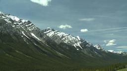 HD2008-6-5-43 snowy mountain range Stock Video Footage