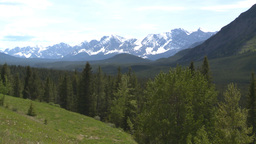 HD2008-6-5-45 snowy mountain range Stock Video Footage