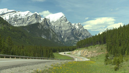 HD2008-6-5-57 twisty mtn highway Stock Video Footage