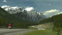 HD2008-6-5-59 twisty mtn highway Stock Video Footage