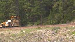 HD2008-6-6-12 rail maintenance tractor Footage
