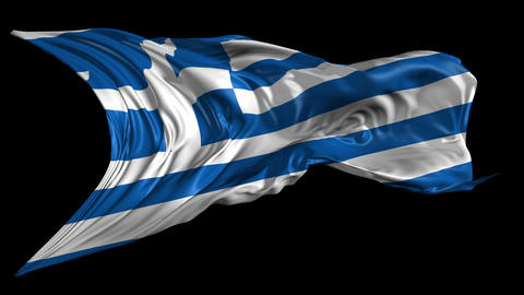 Flag of Greece Animation
