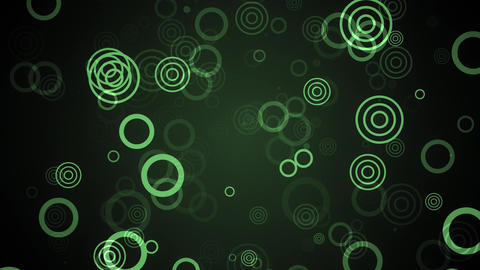 Green Subtle Circles Animation