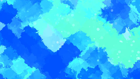 Bluish Water colors Animation