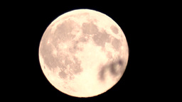 Super Moon stock footage
