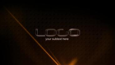 Glassy Logo stock footage