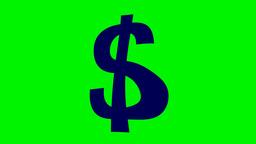 FLOATING DOLLAR SIGN Animation