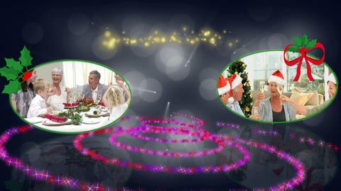Christmas familys animation Animation