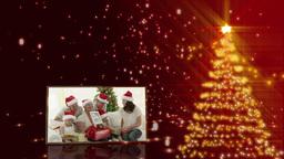 Christmas tree and familys animation Animation
