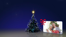 Christmas tree and some familys animations Animation