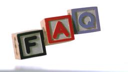 Blocks spelling faq falling over Footage