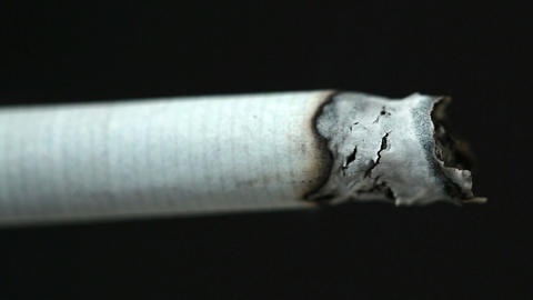 Burning Cigarette stock footage