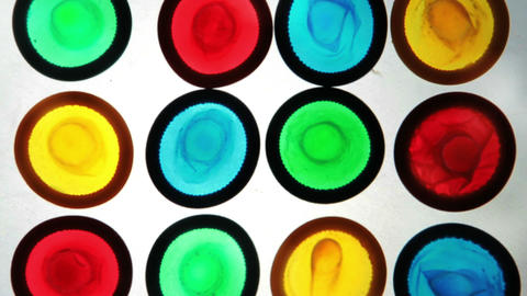 Colourful condoms Footage