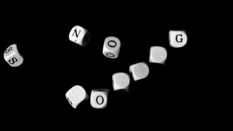 No smoking dice coming together Footage