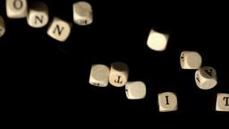 Konnectivitad dice falling together Footage