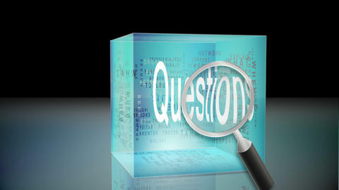 Questions and answers animation Animation