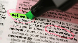 Definition of network and networking Footage