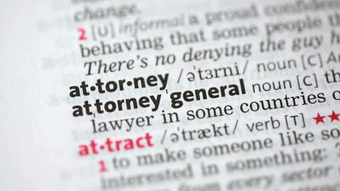 Definition of attorney Stock Video Footage