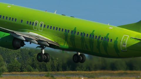 4K UHD Stock footage Passenger Plane Takeoff Footage