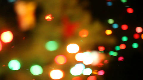 holiday lights Stock Video Footage